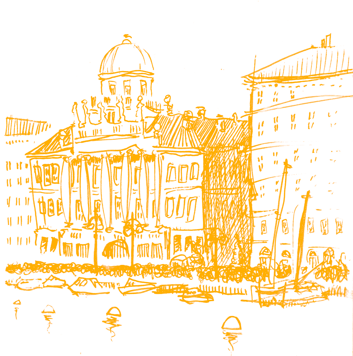 Illustrazione: Veduta di Palazzo Carciotti